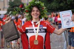 Malthe Poulsen, FIF Hillerød Orientering vinder guld ved ungdoms europamesterskaberne 2016